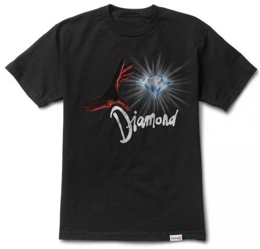 Diamond Supply Co. Underworld Black-Red Tee