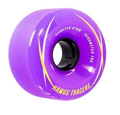 Hawgs Tracer 67mm x 78a Purple Wheels