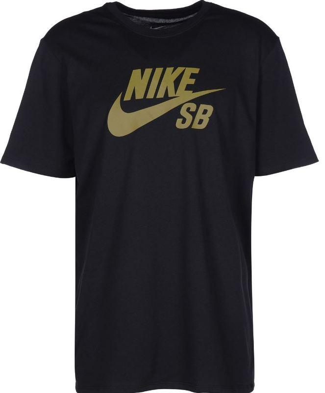 Nike SB DF Icon Logo Black/Peat Moss Tee