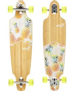 "OBfive Pineapple Vibes Drop Through 38"" Longboard"