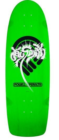 "Powell Peralta Jay Smith PPP Splash Green 10"" Deck"