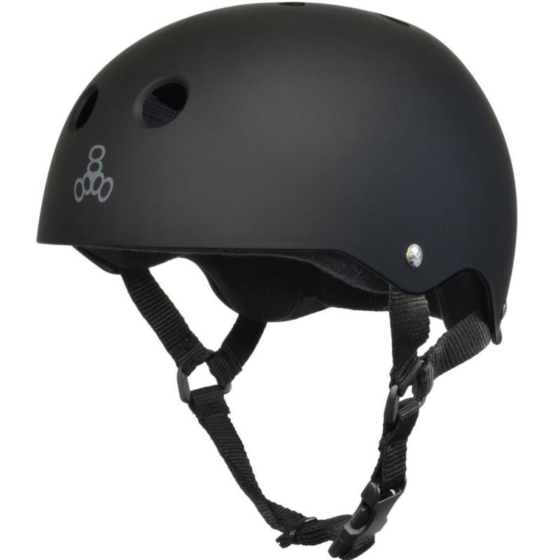 Triple 8 Pro Matt Black/Black Helmet