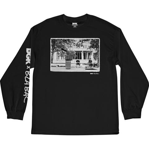 DGK X Blabac Tre Black Long Sleeve Skateboard Tee