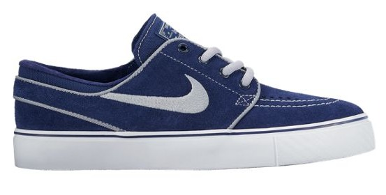 Nike SB Stefan Janoski PS Binary Blue/Wolf Grey-White Skateboarding Shoes