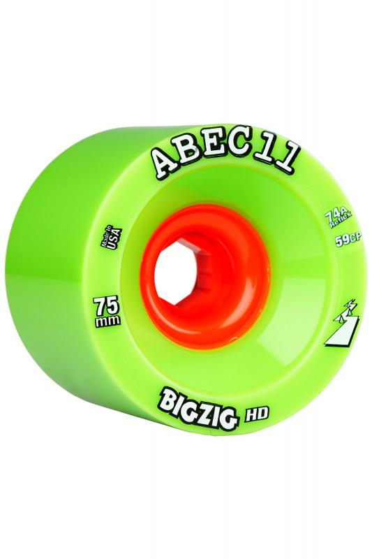 Abec 11 Big Zigs HD 75mm x 77a Wheels