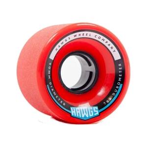 Hawgs Chubby 60mm x 78a Red Wheels