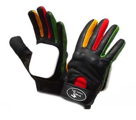 Timeship Kody Noble Racing Leather Downhill Slide Gloves