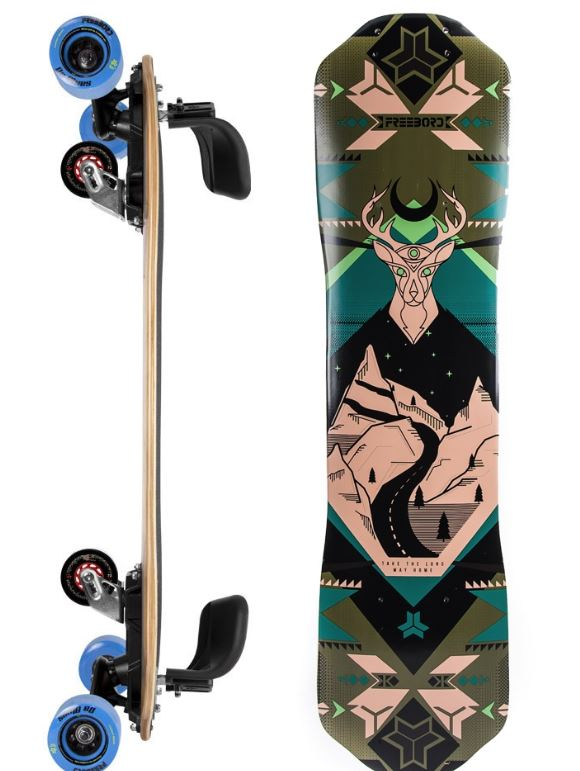 Freebord Mountaineer Maple Complete