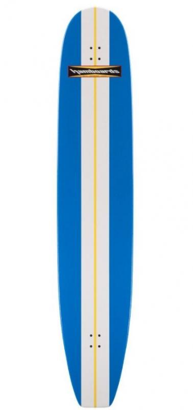 Hamboard Classic Bamboo 6.6 Blue Complete