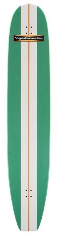 """Hamboard Classic Bamboo 6.6"""" Kelly Green Complete"""