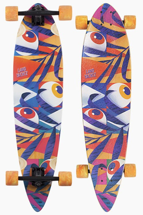 Landyachtz Bamboo Chief Eyes 36 Complete