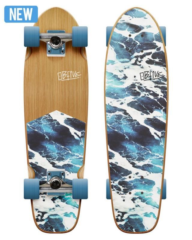 "OBfive White Wash 32"" Cruiser"
