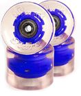 Sunset Flare LED 59mm Blue Cruiser Wheels