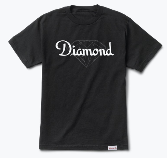 Diamond Supply Co. Champagne Cut Black Tee