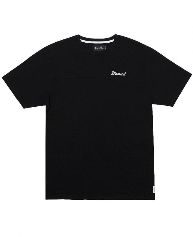 Diamond Supply Co. Asscher Black Tee