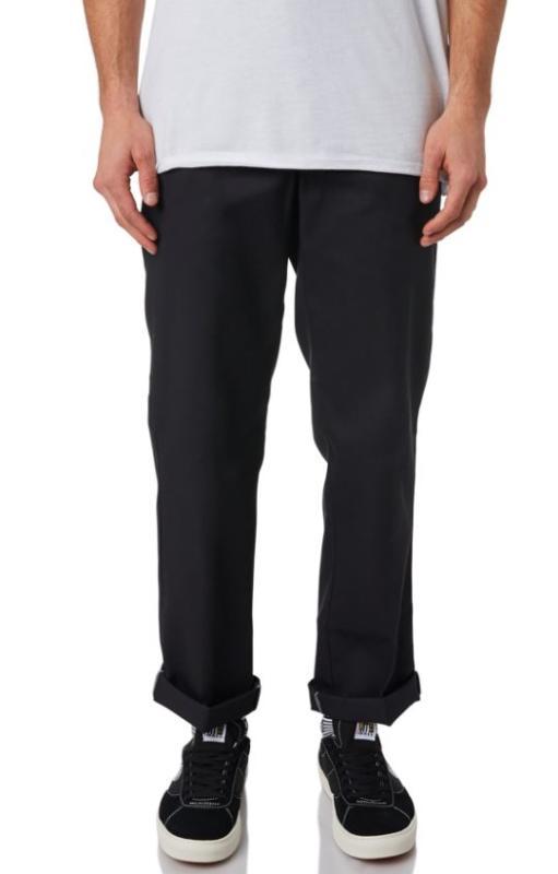 Dickies 873 Slim Fit Straight Black Pants