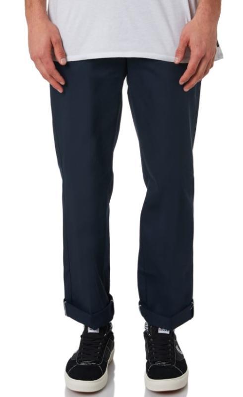 Dickies 873 Slim Fit Straight Navy Pants