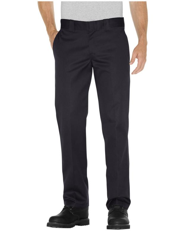 Dickies 873 Slim Fit Straight Black Pants