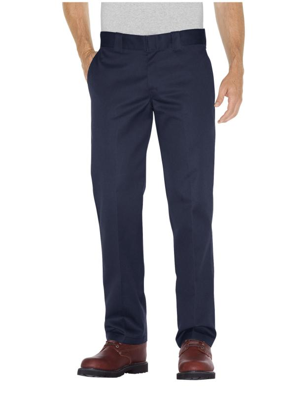 Dickies 873 Slim Fit Straight Navy Pants