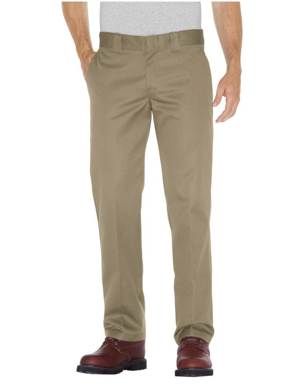 Dickies Slim Straight Fit Work Pants Khaki