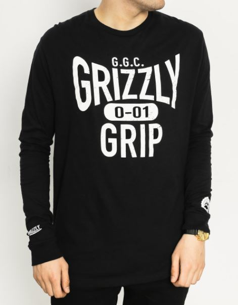 Grizzly Griptape Big City Seal Black L/S Tee