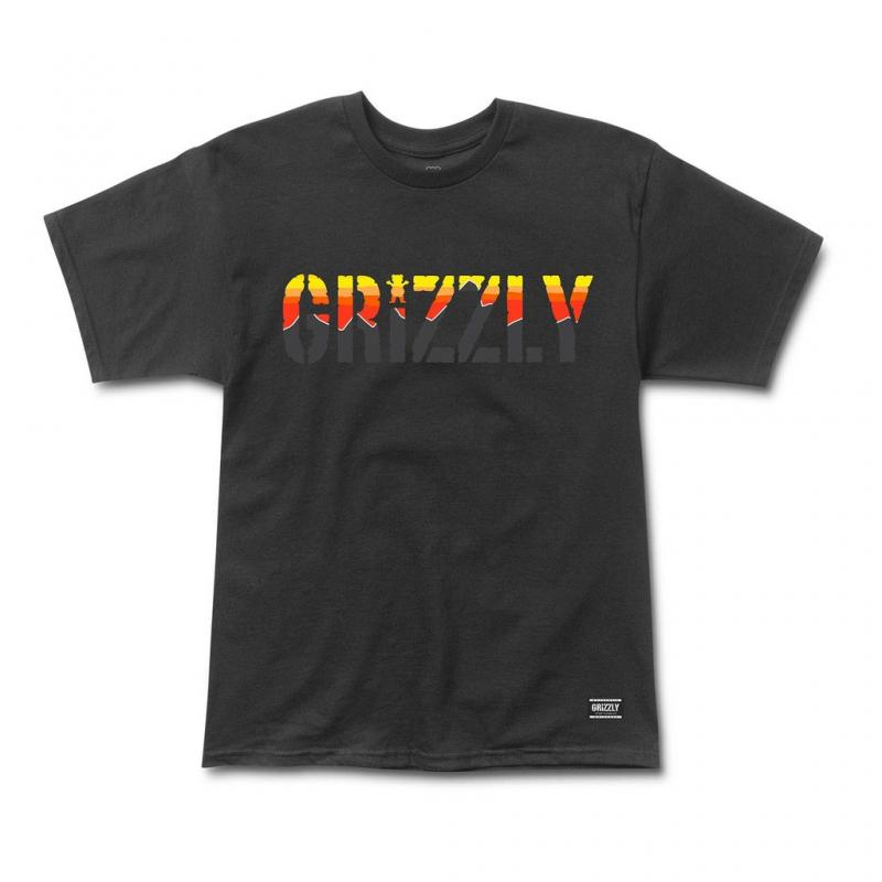 Grizzly Stamp Dawn Black Cub Tee