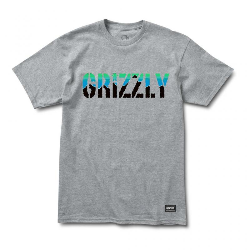 Grizzly Stamp Dawn Heather Cub Tee