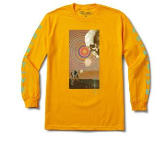 Primitive Spirit Plain Gold Long Sleeve Tee