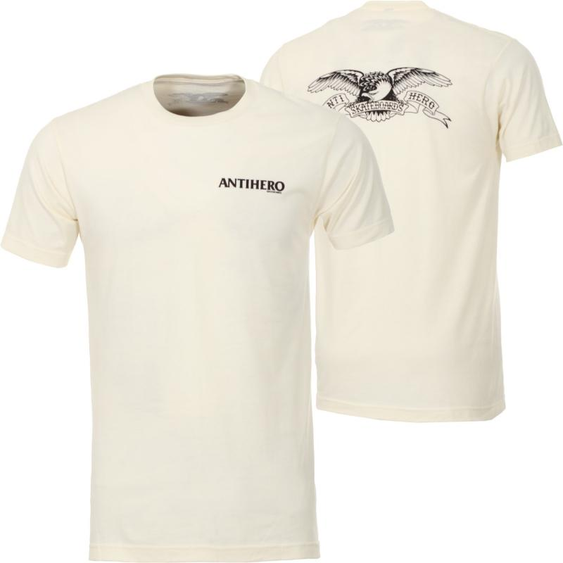Anti Hero Back Eagle Natural Tee