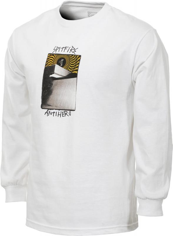 Spitfire X Anti Hero Cardiel Carwash White Long Sleeve Tee