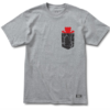 Grizzly Cement Pocket Skateboard Tee