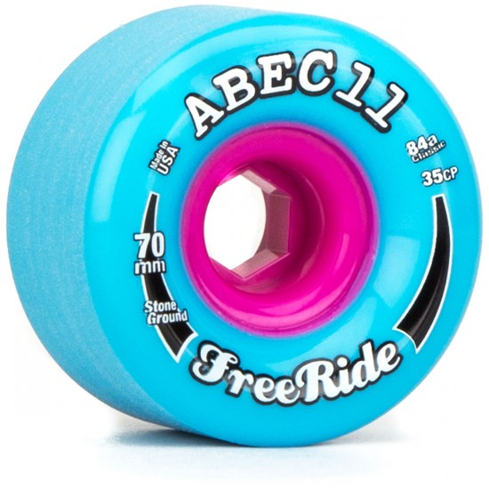 Abec11 Classic FreeRide Blue 70mm x 84a Wheels