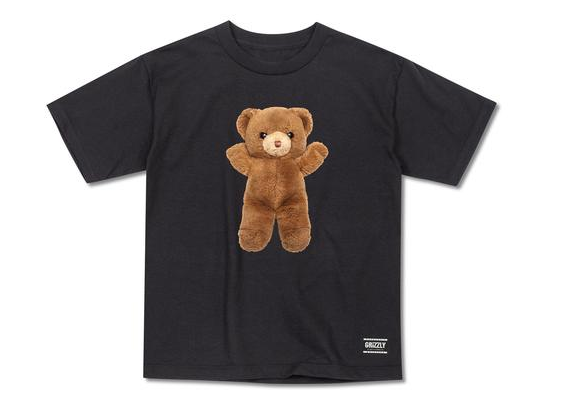 Grizzly Griptape Childhood Youth Black Tee