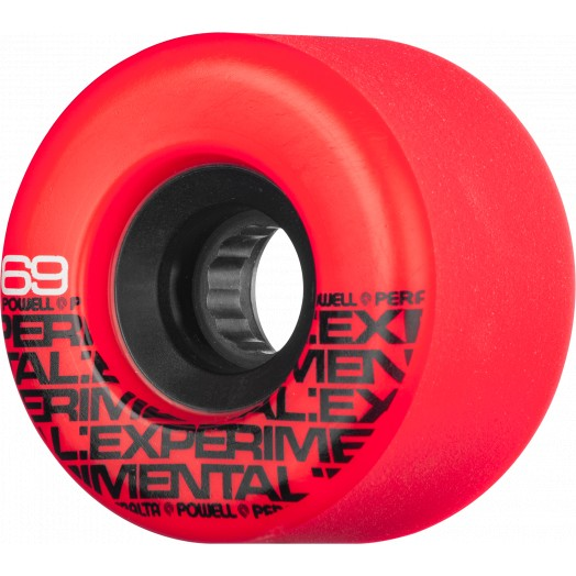 Powell Peralta Beta No-Slides 66mm x 75a Red Freeride Wheels