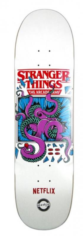 "Madrid X Stranger Things Arcade 8.625"" Deck"