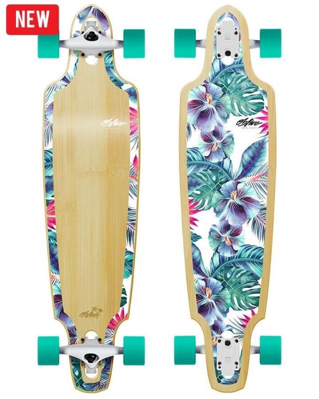 OBfive Summer Vacay Drop Through Longboard
