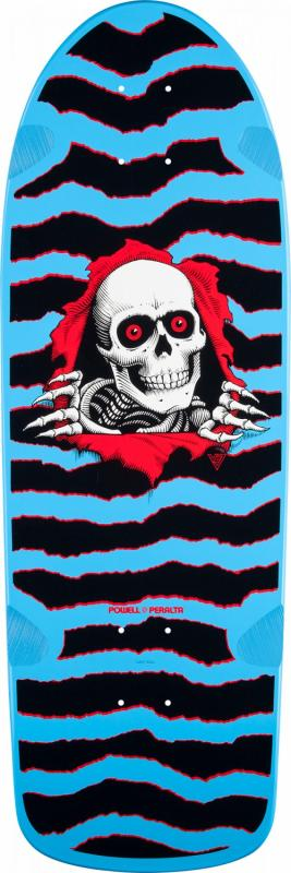 "Powell Peralta OG Ripper Blue 10"" Deck"