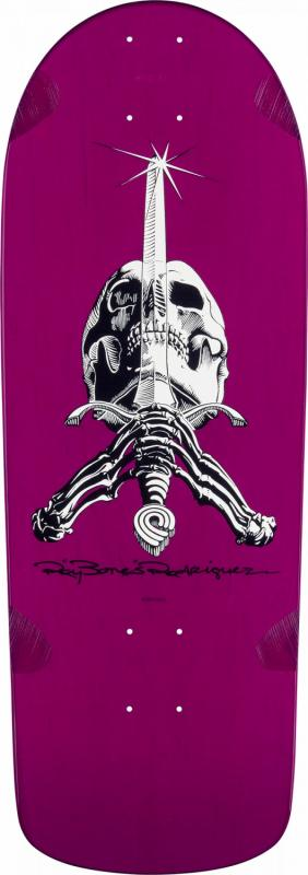 "Powell Peralta Rodriguez OG Snub Nose Purple10"" Deck"