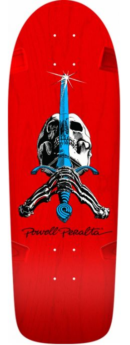 "Powell Peralta Rodriguez OG Snub Nose Red 10"" Deck"