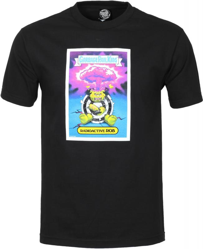 Santa Cruz Garbage Pail Kids Radioactive Rob Black Tee
