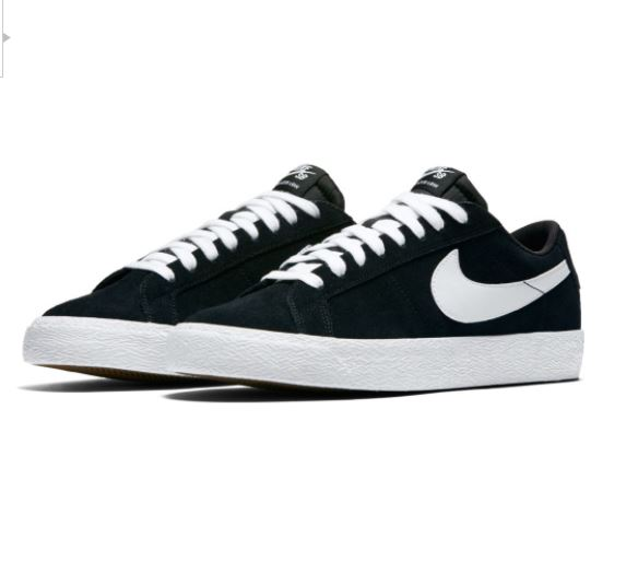e5b2f656 Nike SB Zoom Blazer Low Black/White Shoes | Online at Concrete Lines!