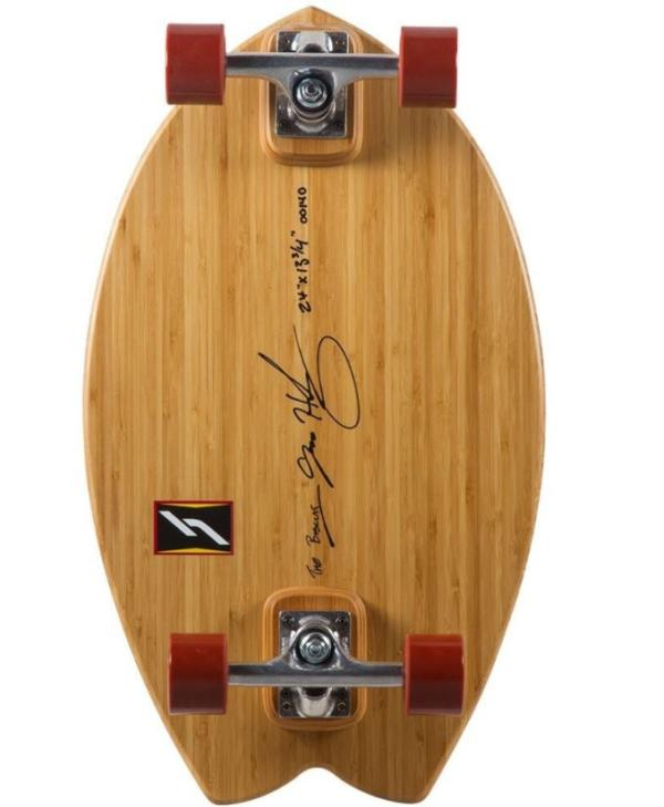 Hamboards Biscuit Natural Bamboo 24 Complete