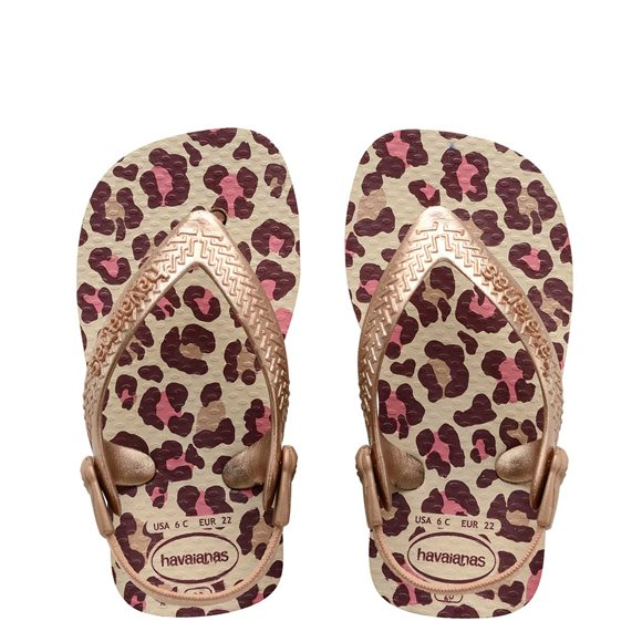 Havaianas Baby Chic Beige-Rose Gold Thongs3