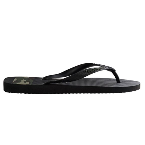 Havaianas Men's Stripes Camo Black-Green Thongs2