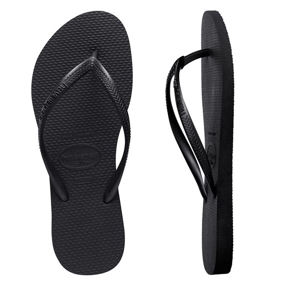 Havaianas Slim Basic Black Women Thongs