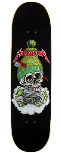 "101 Skateboards Markovich Skull 8.5"" Deck"