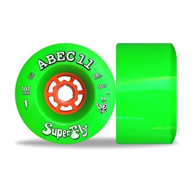 Abec 11 Super Fly Wheels 107mm x 74a Wheels