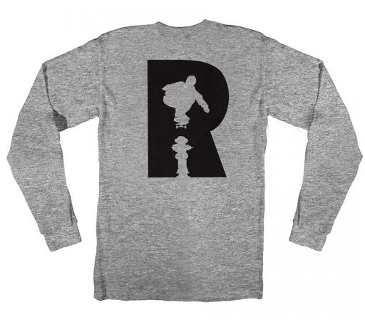 Real R Heather Long Sleeve Tee