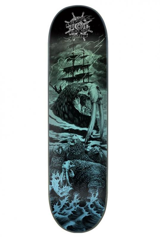 Creature Black Abyss Russell 8.5 Deck