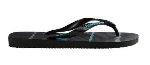 df4fa174a The product is already in the wishlist! Browse Wishlist · Havaianas Kids Tropical  Glitch Black Blue Thongs